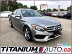 2015 Mercedes-Benz C-Class AMG PKG-4 Matic-Camera-GPS-Pano Roof-New Tires- in London, Ontario
