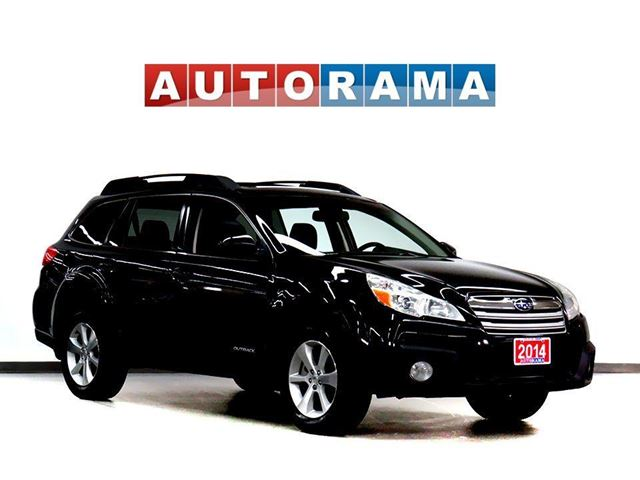 2014 Subaru Outback 3.6R LIMITED NAVIGATION LEATHER SUNROOF 4WD in North York, Ontario