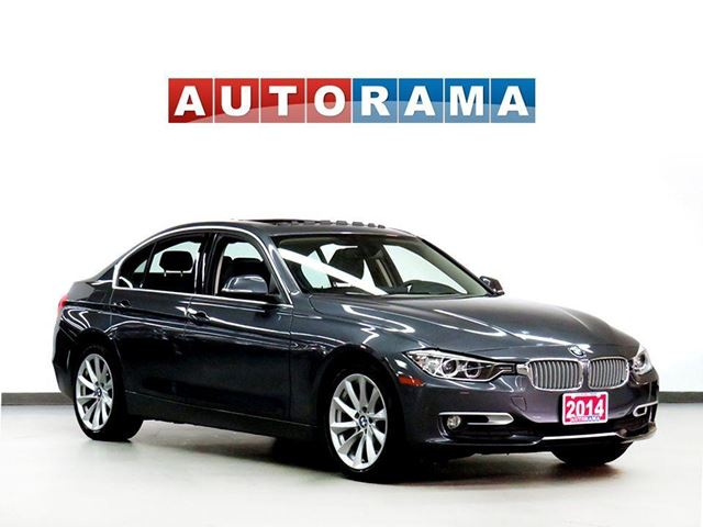 2014 BMW 3 Series X DRIVE NAVIGATION LEATHER SUNROOF ALLOYS 4WD in North York, Ontario