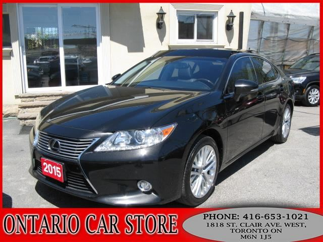 2015 LEXUS ES 350 TOURING NAVIGATION PANO. ROOF !!!TOP OF THE LIN in Toronto, Ontario