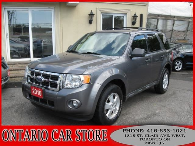 2010 FORD Escape XLT V6 4WD LEATHER !!!1 OWNER NO ACCIDENTS!!! in Toronto, Ontario