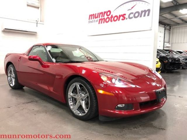 2012 CHEVROLET Corvette 1SB HUD Navigation 6 Speed Crystal Red Metallic in St George Brant, Ontario