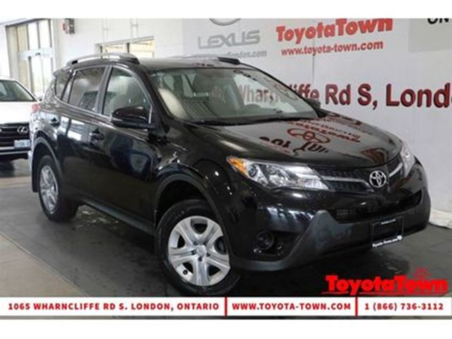2015 Toyota RAV4 SINGLE OWNER LE HEATED SEATS BACKUP CAMERA in London, Ontario