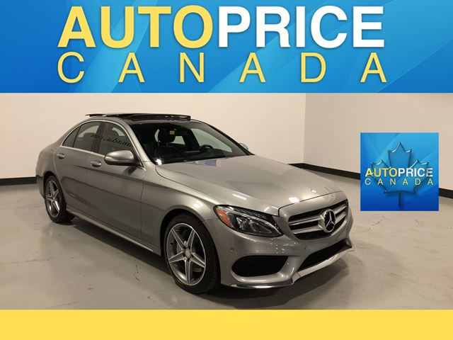 2015 MERCEDES-BENZ C-CLASS SPORT PKG|NAVIGATION|PANROOF in Mississauga, Ontario