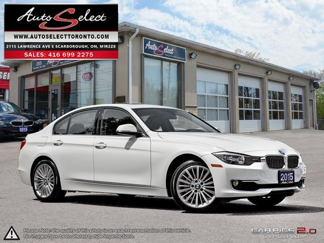 2015 BMW 3 SERIES xDrive AWD ONLY 70K! **NAVIGATION PKG** PREMIUM LINE in Scarborough, Ontario