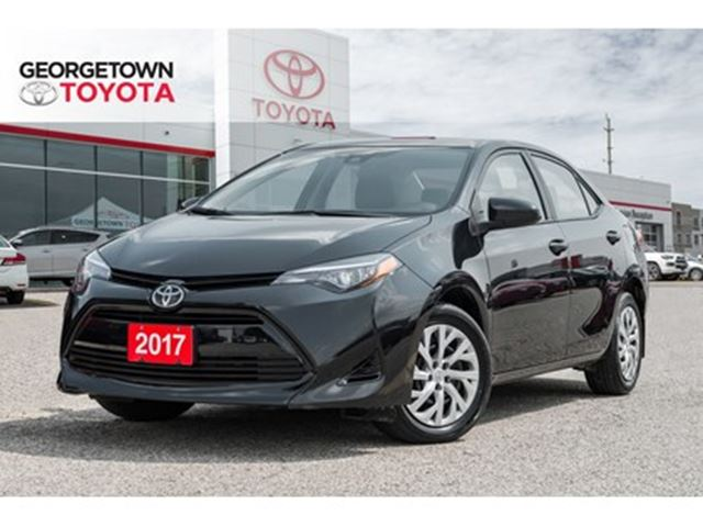 2017 TOYOTA COROLLA LE BACK UP CAM HEATED SEATS BLUETOOTH in Georgetown, Ontario
