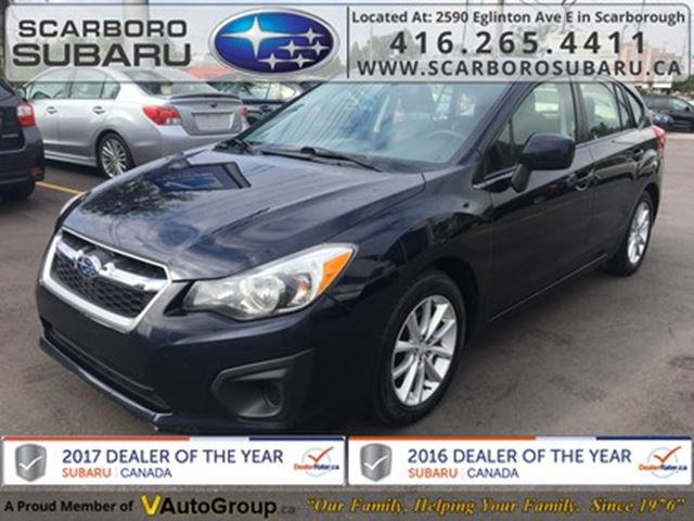 2014 SUBARU Impreza 2.0i TOURING, FROM 1.9% FINANCING AVAILABLE in Scarborough, Ontario
