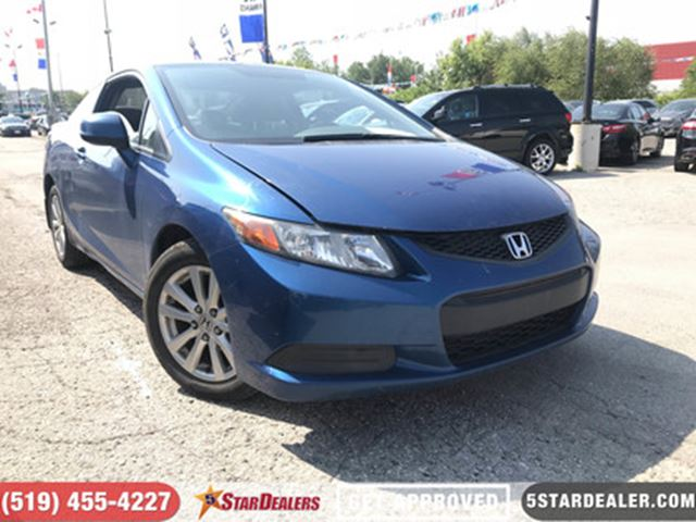 2012 Honda Civic EX-L   LEATHER   ROOF   NAV in London, Ontario