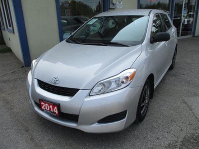 2014 TOYOTA Matrix 'GREAT VALUE' FUEL EFFICIENT LE MODEL 5 PASSENG in Bradford, Ontario