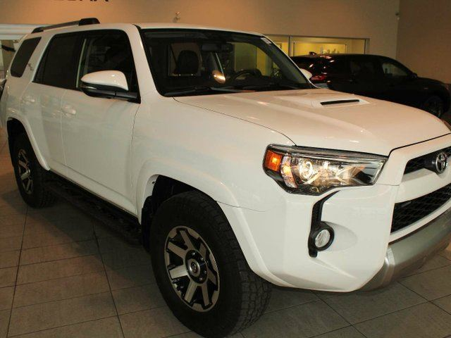 2018 TOYOTA 4Runner TRD Offroad-Heated Leather Seats, Sunroof, Nav, B/U Cam in Red Deer, Alberta
