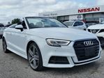 2018 Audi A3 S-line TFSI QUATTRO AWD TURBO w/all leather,NAV,climate control,drive select,rear cam,push button start in Cambridge, Ontario