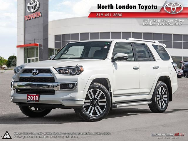2018 TOYOTA 4Runner SR5 Resale value of the 4Runner is among the top of it's class within the first 5 years. - www.kellyblue in London, Ontario