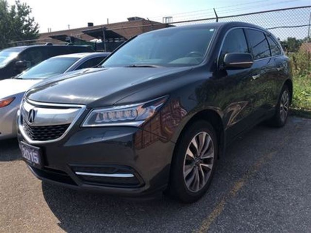 2015 ACURA MDX Navigation at Navigation Package, Accident Free! in Brampton, Ontario