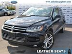 2014 Volkswagen Touareg 3.6L Execline,Leather,Nav,Roof in Welland, Ontario