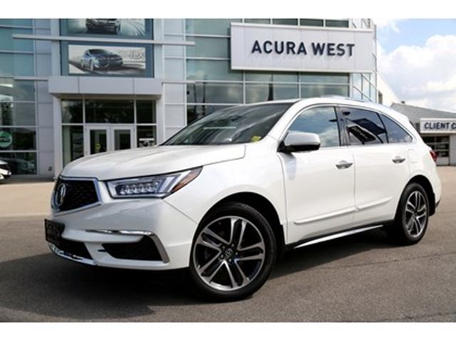 2017 ACURA MDX Navigation Package in London, Ontario