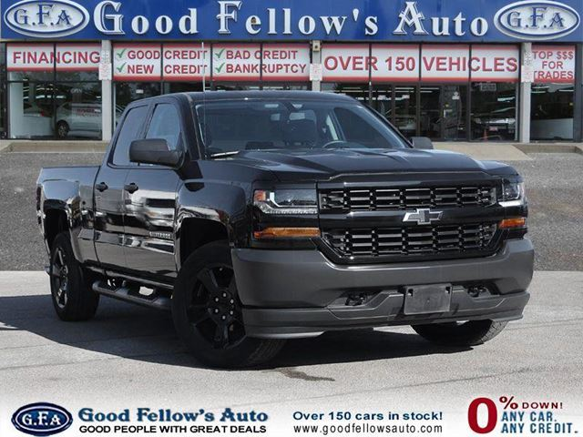 2016 CHEVROLET Silverado 1500 WORK TRUCK, 1500 MODEL, DOUBLE CAB, 6CYL 4.3 LITER in North York, Ontario