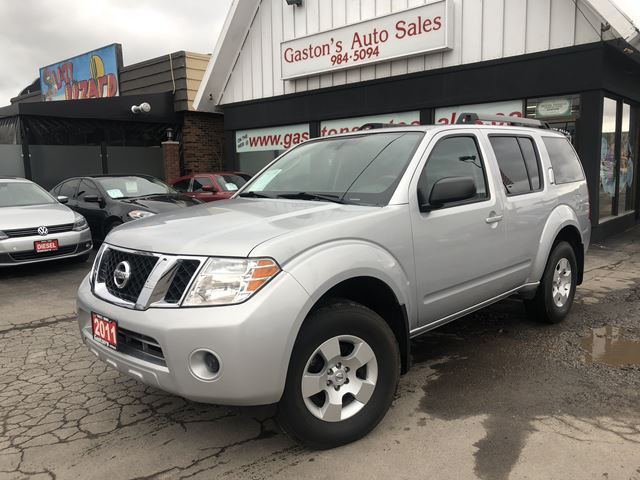 2011 Nissan Pathfinder 4x4! TOW! 7PASS! - St Catharines