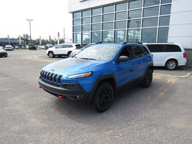2018 Jeep Cherokee Trailhawk in Trois-Rivieres, Quebec