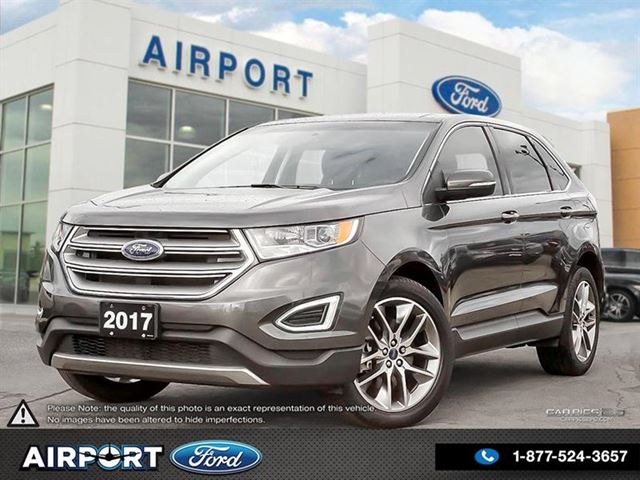 2017 FORD Edge Titanium AWD with only 51,575 kms in Hamilton, Ontario