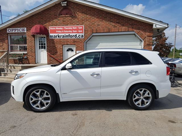 2014 Kia Sorento SX V6 AWD Navigation Leather Pano Roof BT in Bowmanville, Ontario