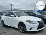 2014 Lexus IS 250 V6|AWD|RED LEATHER INTERIOR|MOONROOF|NAVIGATION in Brantford, Ontario