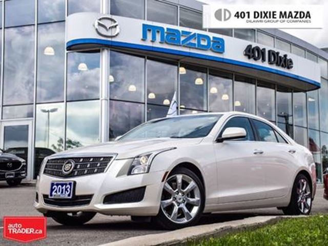 2013 CADILLAC ATS 2.5L, NO ACCIDENTS, New Tires, Sunroof in Mississauga, Ontario