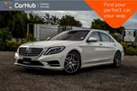 2015 Mercedes-Benz S-Class S 550 4Matic Navi Pano Sunroof Backup Cam Bluetooth Leather 19Alloy in Bolton, Ontario
