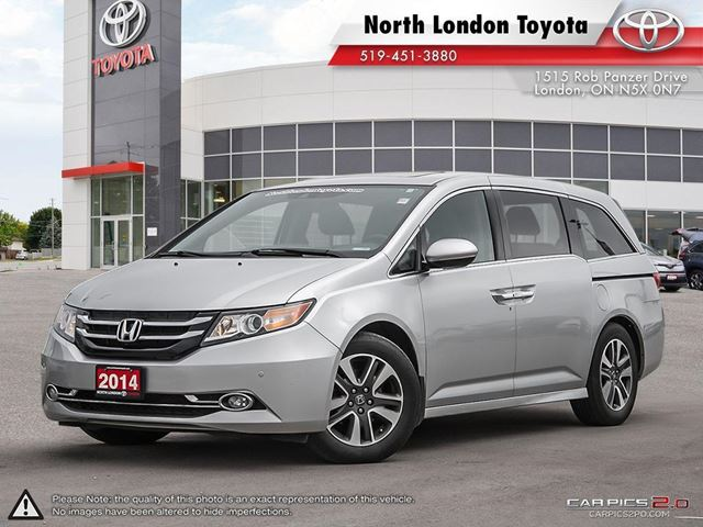 2014 HONDA Odyssey Touring Top pick for saftey and infotainment gear - TheCarConnection.com in London, Ontario