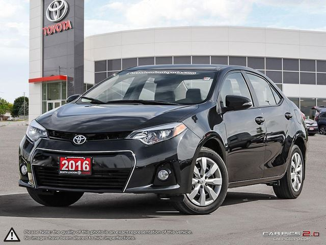 2016 TOYOTA Corolla S Sporty car without the sport price tag - SlashGear.com in London, Ontario