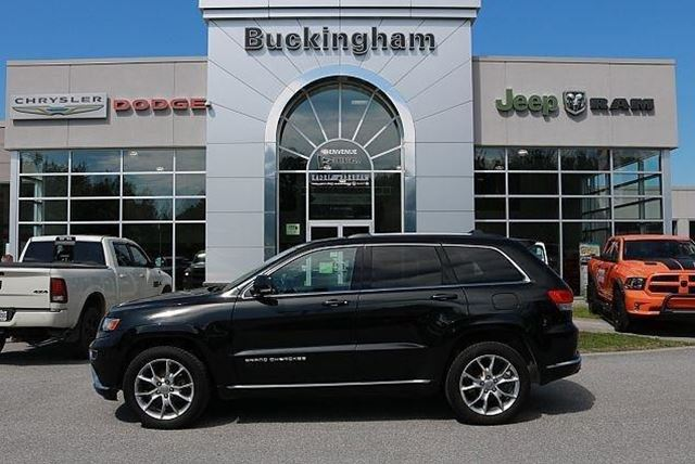 2016 JEEP Grand Cherokee Summit in Gatineau, Quebec