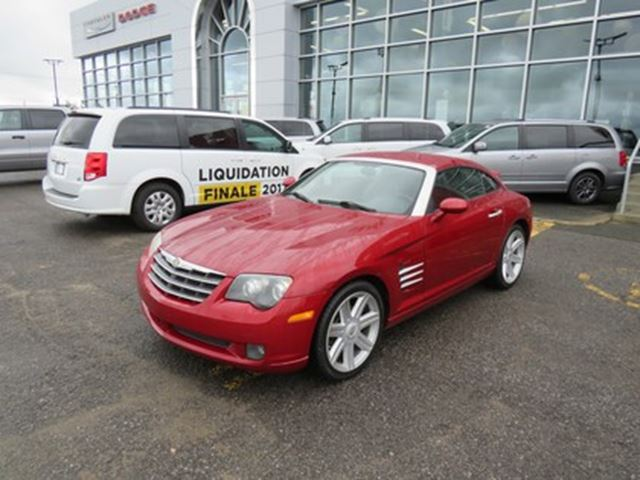 2005 Chrysler Crossfire Limited in Trois-Rivieres, Quebec