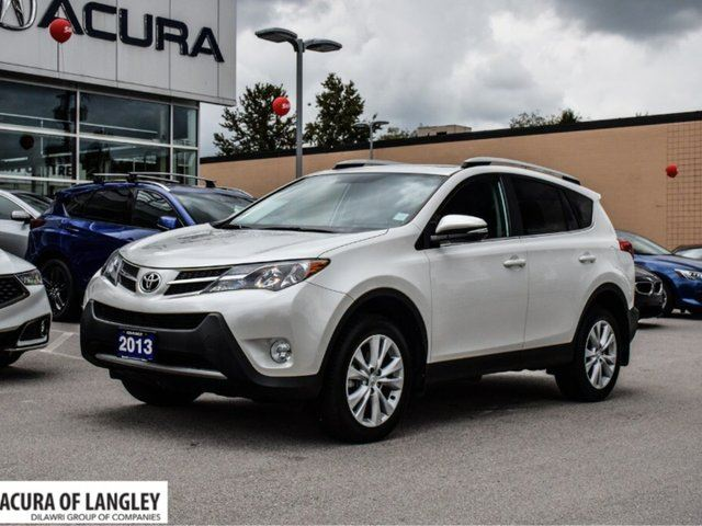 2013 TOYOTA RAV4 AWD Limited in Langley, British Columbia