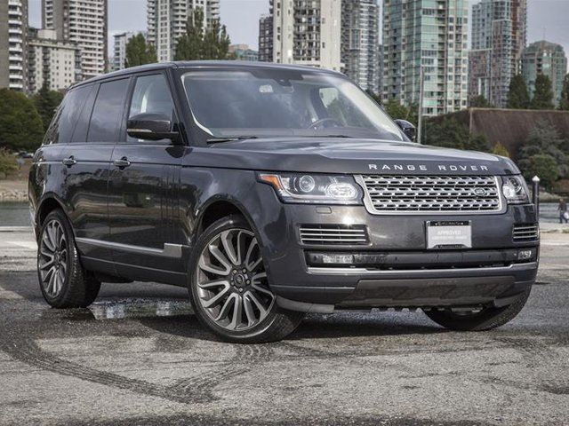 2015 LAND ROVER Range Rover V8 Autobiography Supercharged SWB in Vancouver, British Columbia