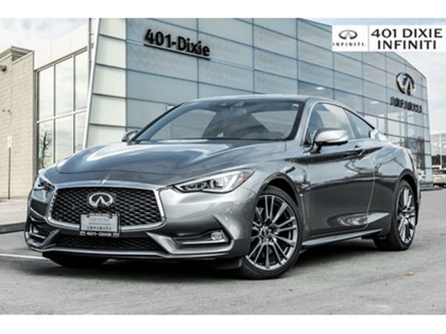 2017 INFINITI Q60 Gray on Red!! Red Sport 400HP! Tech Pkg! in Mississauga, Ontario