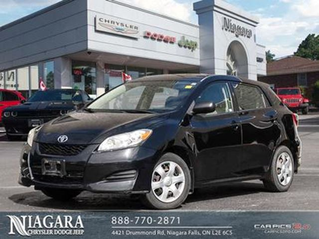 2010 Toyota Matrix POWER GROUP   1 OWNER   GREAT CONDITION! in Niagara Falls, Ontario