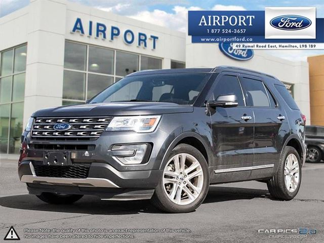2016 FORD Explorer Limited 4WD with only 40,822 kms in Hamilton, Ontario