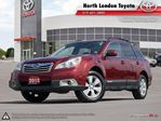 2012 Subaru Outback 2.5i Convenience Package 8.5 L/100KM combined thank to boxer engine, top picks for fuel - TheCarConnection.com in London, Ontario