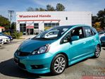 2013 Honda Fit Sport (M5) , Factory Warranty Until 2020 in Port Moody, British Columbia