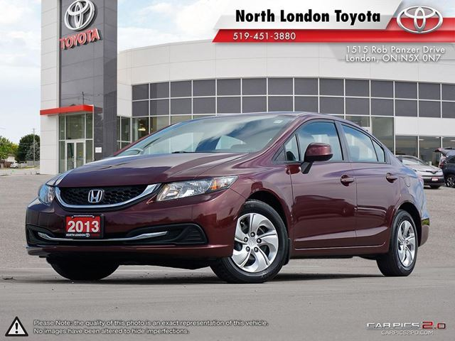 2013 HONDA Civic LX 2013 Best Selling car in Canada - Driving.ca in London, Ontario