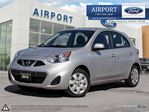 2015 Nissan Micra SV Hatchback with only 23,183 kms in Hamilton, Ontario