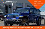 2018 Jeep Wrangler Unlimited Rubicon 4x4 AC Keyless_Entry Pwr.Opts 17Alloys in Thornhill, Ontario