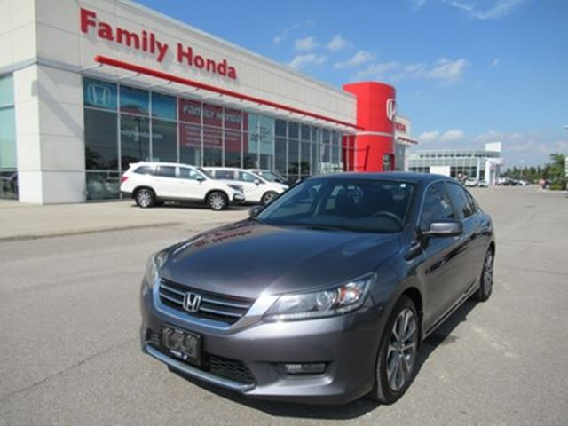 2015 HONDA Accord Sport, WOW! GORGEOUS! in Brampton, Ontario