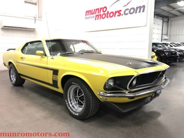 1969 Ford Mustang BOSS 302 Rotisserie Restoration in St George Brant, Ontario