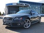 2010 Audi S5 4.2L V8, 6-SPEED, LEATHER, PANO ROOF, HEATED SEATS in Barrie, Ontario