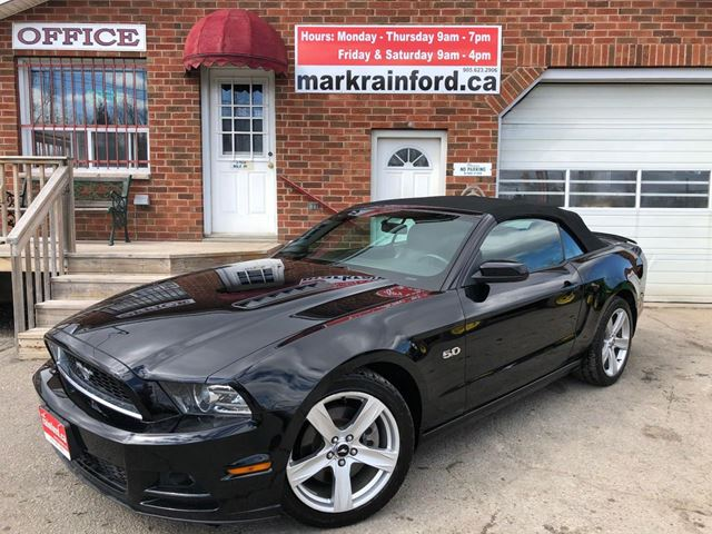 2013 Ford Mustang GT Convertible in Bowmanville, Ontario