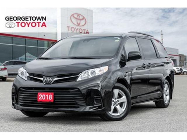 2018 Toyota Sienna LE 8-Passenger BACK UP CAM HEATED SEATS ROOF RACK in Georgetown, Ontario