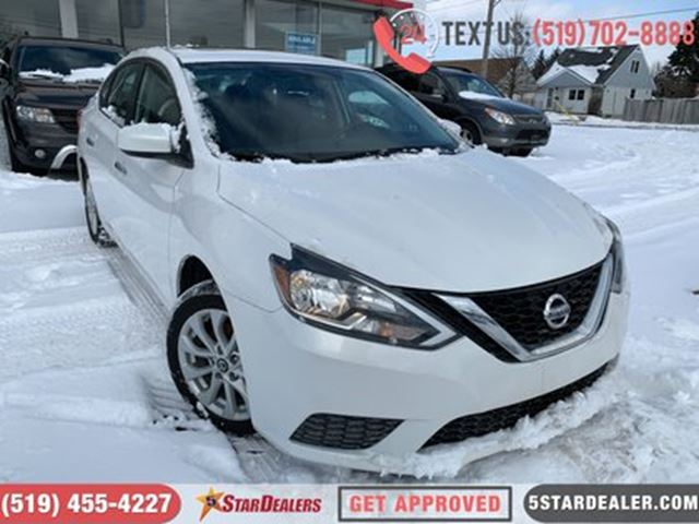 2016 NISSAN Sentra 1.8 SV   ROOF   CAM   HEATED SEATS in London, Ontario