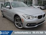 2018 BMW 3 Series 330i xDrive/LEATHER/ROOF/NAV in Edmonton, Alberta