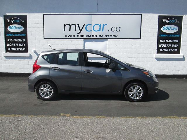 2018 Nissan Versa 1.6 SV HEATED SEATS, BACK UP CAM, ALLOYS!!! in North Bay, Ontario