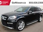 2014 Mercedes-Benz GL-Class GL 550: 7 PASSENGER, AIR RIDE SUSPENSION, HEATED AND COOLED SEAT, HEATED STEERING WHEEL, NAVIGATION, BACK UP CAMERA, 4 MOTION, TRIPLE SUNROOF, LEATHER, ADAPTIVE CRUISE CONTROL, CLEAN CARPROOF in Edmonton, Alberta